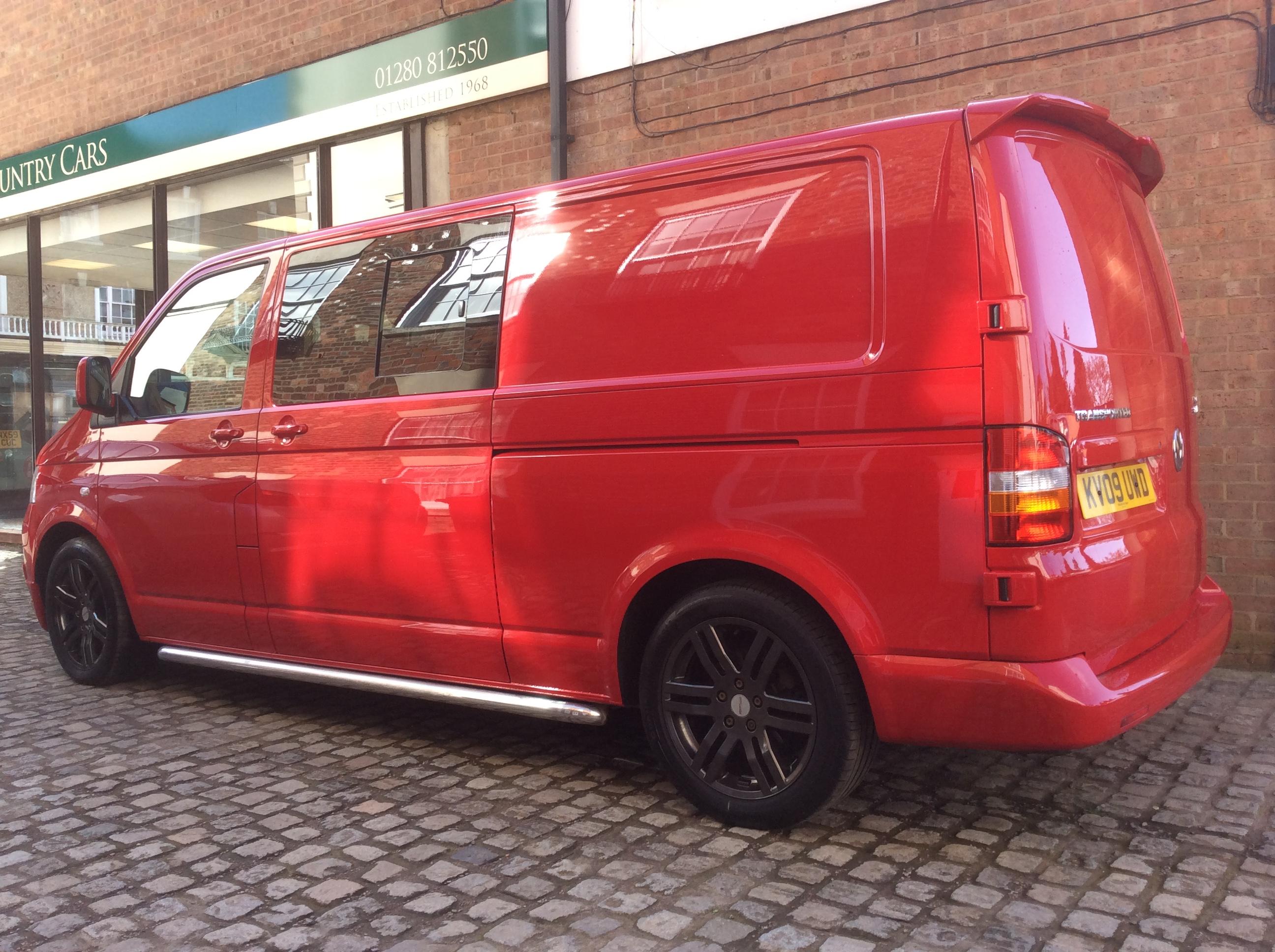 Volkswagen Transporter LWB Kombi Sportline 174 NO VAT