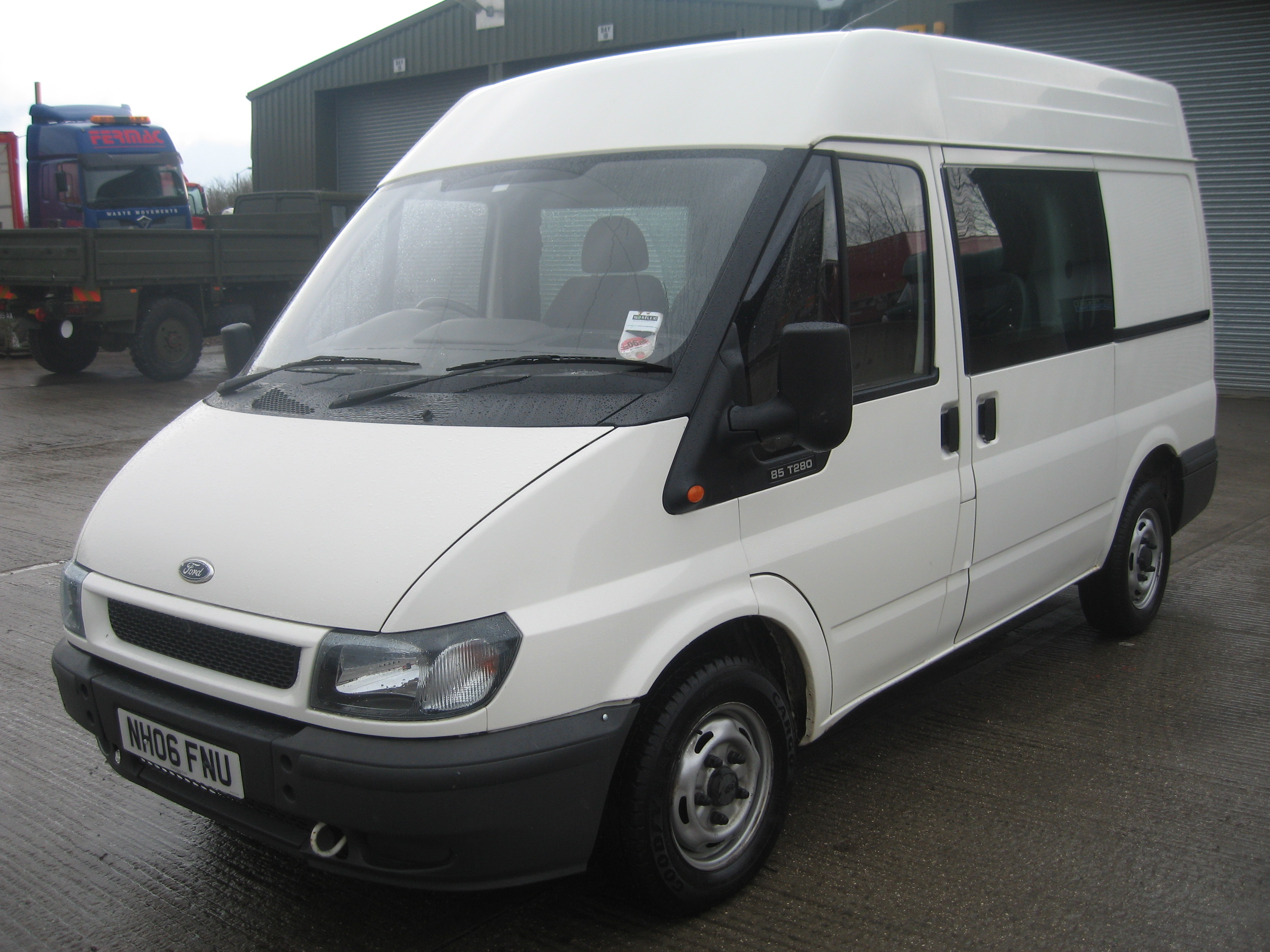 Ford Transit 280 Swb 85ps Medium Roof Crew Van