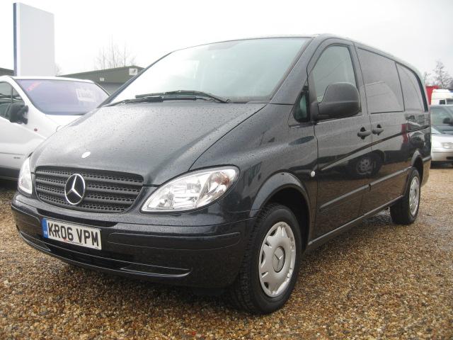 Mercedes benz vito 115 cdi lwb automatic crew van for Mercedes benz vito vans for sale